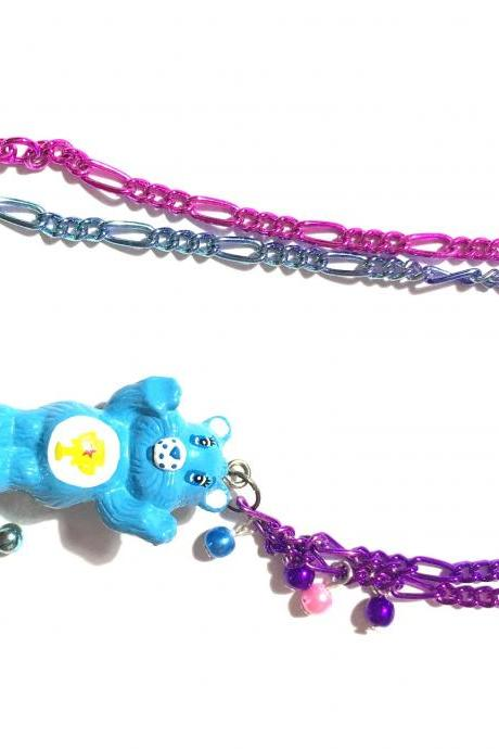 Kawaii Carebear Necklace